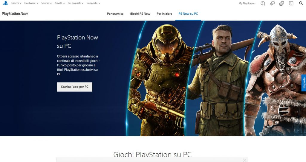 Playstation Now - PS Now