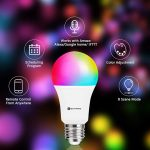 Lampadina Smart Bakibo, luci colorate per Alexa, Siri, Cortana e Google Home