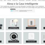 Alexa e la casa intelligente, nuova pagina su Amazon